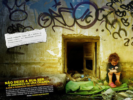Moradia de criança de rua vira classificados em anúncio - EXAME.com | Publicidade | Scoop.it