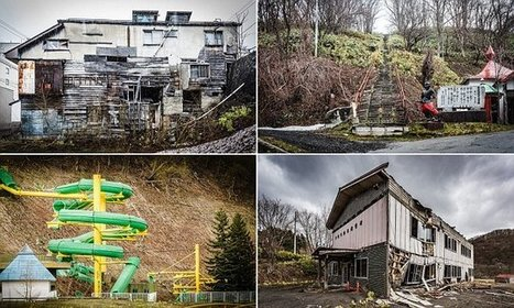 The abandoned buildings of Yubari pictured by BRETT PATMAN | Abandoned Houses, Cemeteries, Wrecks and Ghost Towns | Scoop.it