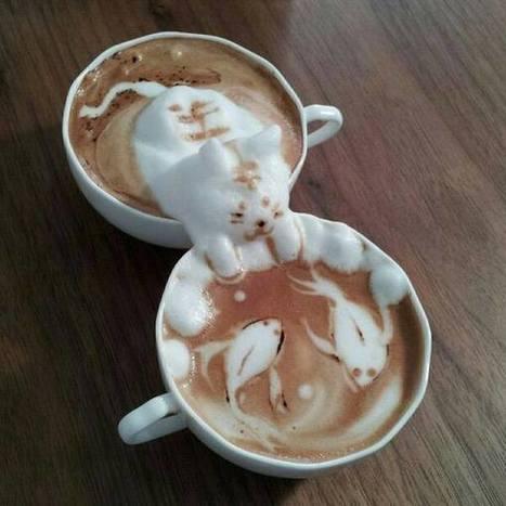 Ultimate latte art - Imgur | Vloasis vlogging | Scoop.it