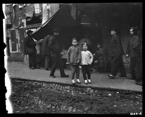 Arnold Genthe's Chinatown (before 1906) | Chinese American history | Scoop.it