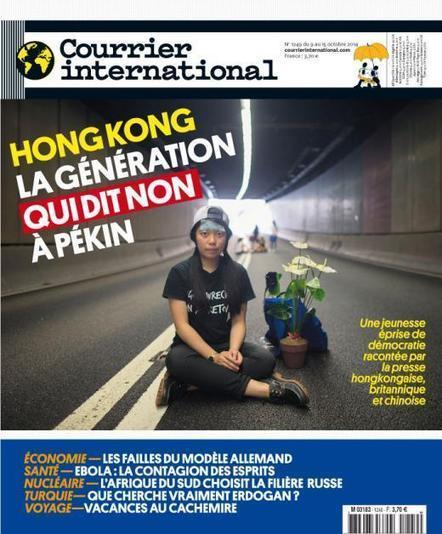 Courrier international | N° 1249 | 9 octobre 2014 | Revue des unes et des sommaires des abonnements du CDI | Scoop.it