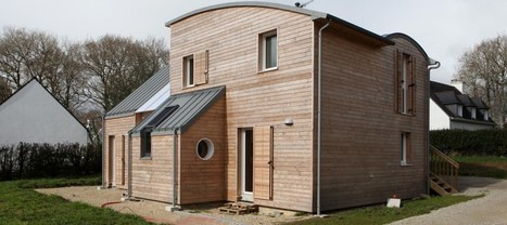 """"""" NATURAL MATERIALS FOR HEALTHY LIVING IN A HOUSE NEAR PONT AVEN, by a.typique Patrice BIDEAU """"-www.archilist.co.uk 