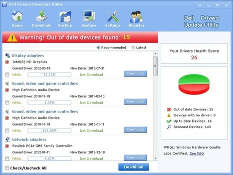 Dell Drivers Download Drivers Update Tool - LionSea™ Software   Drivers Download   Scoop.it