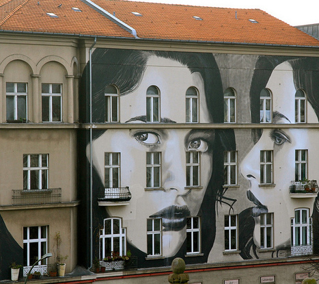 RONE's New Three-Story Mural in Berlin   Culture and Fun - Art   Scoop.it