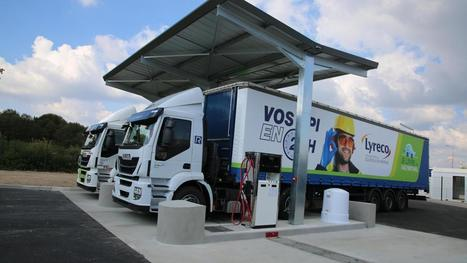 MARLY - Lyreco, le géant des fournitures, met les gaz sur le transport durable | Innovation durable | Scoop.it