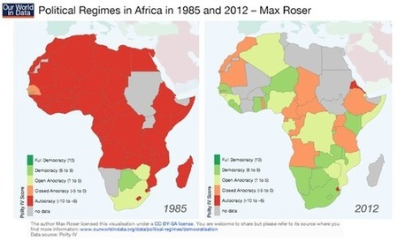 Maps - Africa is getting more democratic | AP HUMAN GEOGRAPHY DIGITAL  STUDY: MIKE BUSARELLO | Scoop.it