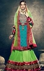 IndianWardrobe has Dazzling Collection of Lehenga Choli Online | Indian Wardrobe | Scoop.it