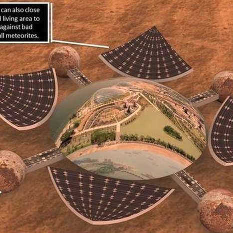 Want to design a Mars base for Nasa? Now's your chance (Wired UK)   art   Scoop.it