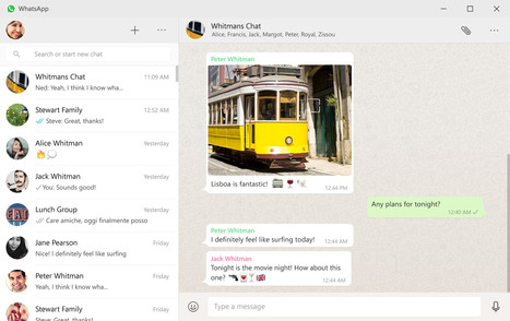 WhatsApp lance une application de bureau pour PC Windows et pour Mac - Blog du Modérateur | Le Community Management autrement | Scoop.it