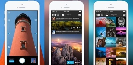 500px iOS app update debuts a new camera and Adobe photo editing tools - The Next Web | Edtech PK-12 | Scoop.it