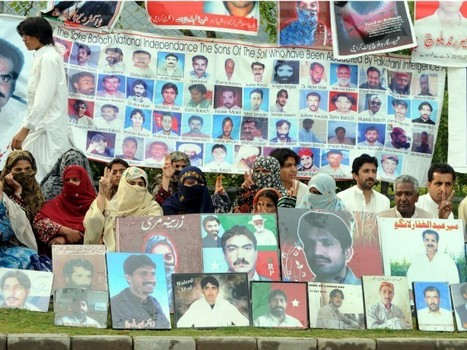 Baloch missing persons: On Eid, relatives hold rally instead of celebrations | Human Rights and the Will to be free | Scoop.it