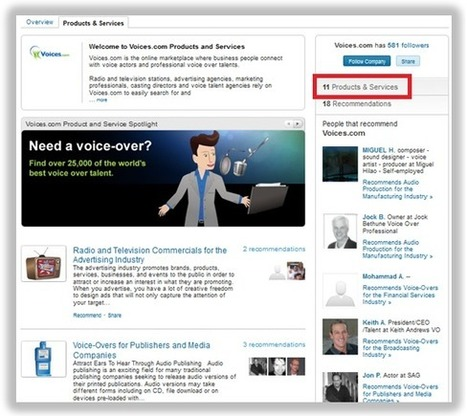 13 Brands Using LinkedIn Company Page Features the Right Way | LinkedIn Marketing Strategy | Scoop.it