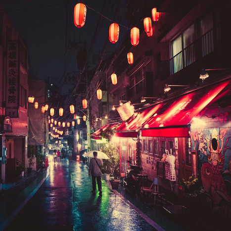 Masashi Wakui's night-time Tokyo streets | Urban Decay Photography | Scoop.it