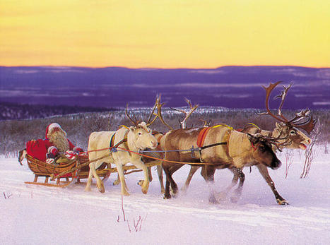 Christmas travel: Chilling with Santa in his Finnish hometown | Finland | Scoop.it