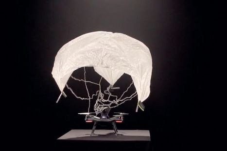 Solo drone extends its capabilities with a parachute and 360 degree camera | Drone - UAV | Scoop.it