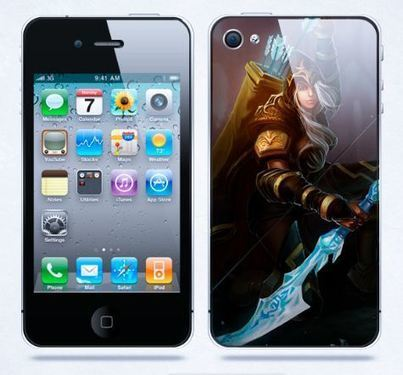 League of Legends iPhone cases : Ashe the frost archer iPhone case | Apple iPhone and iPad news | Scoop.it