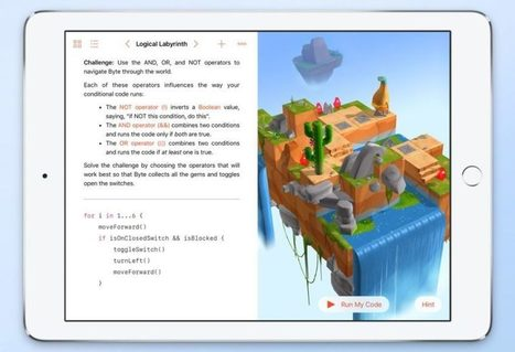 Apple releases Swift Playgrounds app to teach kids coding | EDUcopilot | Technology in Education | Scoop.it