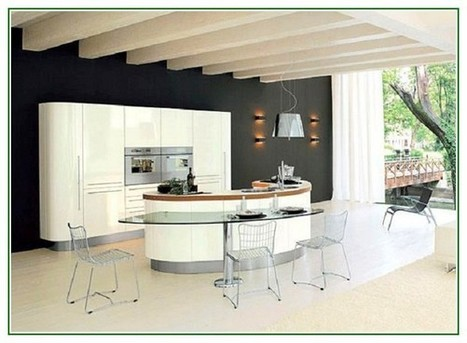 Best Kitchen Island Designs With Stylish Curved Design - Top Decor Ideas For The Home | Interior Design Trends | Scoop.it