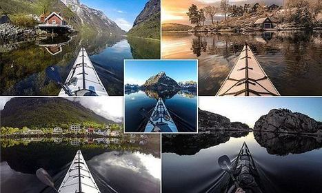 Breathtaking Views Of Norwegian Fjords Captured From A Kayak | Everything from Social Media to F1 to Photography to Anything Interesting | Scoop.it