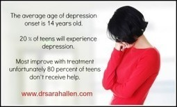 Teen Depression Effective Treatment Dr. Sarah Allen Northbrook Chicago | Therapy News | Scoop.it