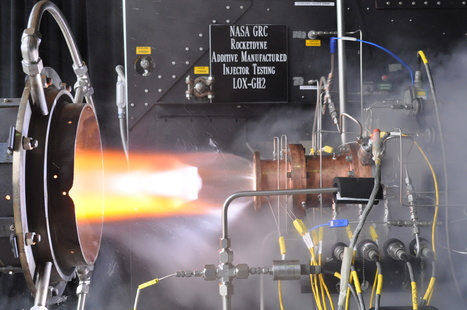 "NASA, Industry Test ""3D Printed"" Rocket Engine Injector 