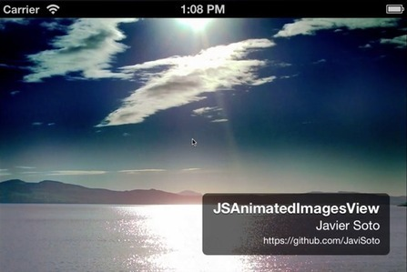 JSAnimatedImagesView - add a cool animated photo carrusel to your iOS app | iOS stuff | Scoop.it