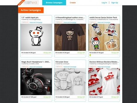 Redditmade is a Crowdfunding Platform for Reddit users | MarketingHits | Scoop.it