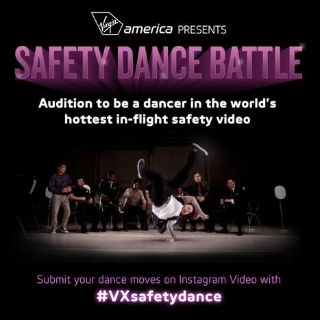 Virgin America Presents the Safety Dance Battle | Communication de crise | Scoop.it