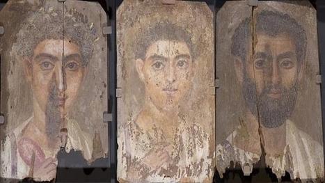 ¿Cómo pintaron los romanos los retratos de momias hace más de 2.000 años? | Arqueología, Historia Antigua y Medieval - Archeology, Ancient and Medieval History byTerrae Antiqvae (Blogs) | Scoop.it