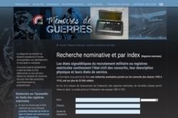 Recherchez directement vos ancêtres dans Mémoires de guerres du ... - La Revue française de Généalogie | GénéaKat | Scoop.it