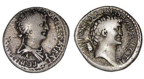 Una moneda destruye el mito de la bella Cleopatra   Dos reinas poderosas de Egipto -Cleopatra vs. Nefertiti-   Scoop.it