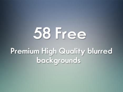58 Free Blurred HD BG | OrTheme | Creative PSD for free | Scoop.it