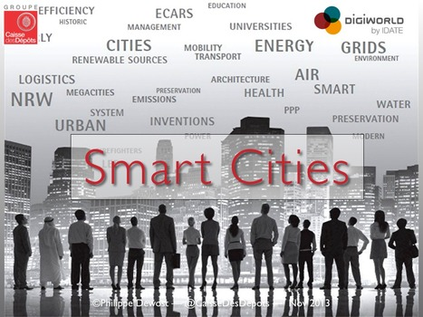 Smart Cities Keynote — DigiWorld Summit de l'IDATE | cross pond high tech | Scoop.it