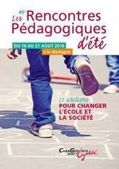 45es Rencontres Pédagogiques d'été   Pédagogie: un peu de tout...   Scoop.it
