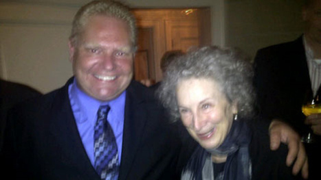 Margaret Atwood, Doug Ford meet at last | LibraryLinks LiensBiblio | Scoop.it