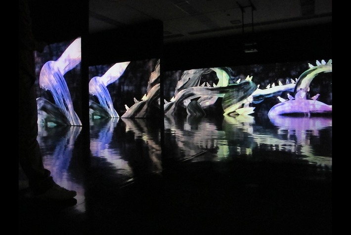 Exhibition of Japanese collaborative digital artists, teamLab, opens at Pace New York | Art Daily | Asie | Scoop.it