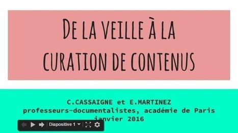 De la veille à la curation de contenus | Education & Numérique | Scoop.it