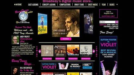 New digital music store to cater to theater fans - Crain's New York Business | Ruffhaus Media | Scoop.it