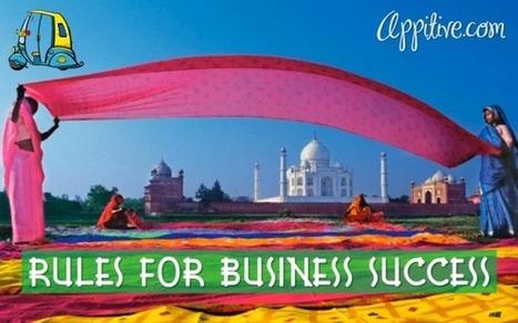 Rules For Business Success | Startups & Entrepreneurship | Scoop.it