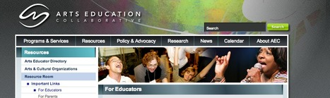 Arts Education COLLABORATIVE--Resource Room | actions de concertation citoyenne | Scoop.it