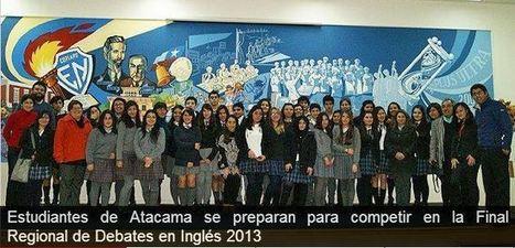 Estudiantes de Atacama se preparan para competir en la Final Regional de Debates en Inglés 2013 | Pecha Kucha & English Language Teaching | Scoop.it
