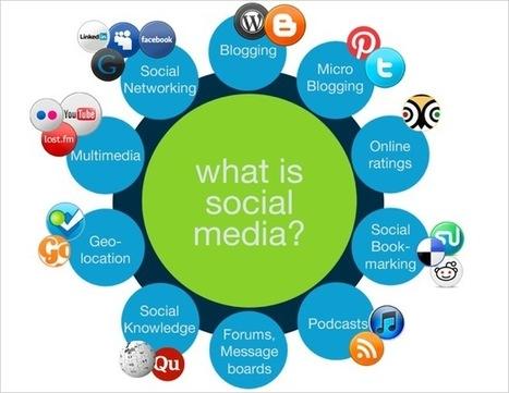 Blog | Different types of social media | social media agency | Social Media Breakdown - Time to categorize It! | Scoop.it