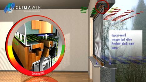 Une fenêtre intelligente qui pourrait bousculer le marché de la rénovation énergétique | Immobilier | Scoop.it