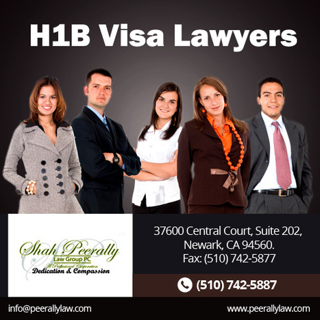 H1, H1B Visa for Startup Comapnies | Peerally Law Group For Immigration Law | Scoop.it