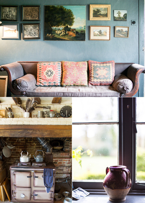 Happy Interior Blog: From Place To Space: Walnuts Farm, England | Interior Design & Decoration | Scoop.it