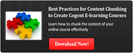 Content Chunking in E-Learning: 10 Practical Tips – Part 1 | Contemporary Learning Design | Scoop.it