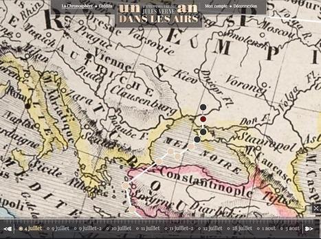Un an dans les airs : le web•livre autour de l'imaginaire de Jules Verne | Remue-méninges FLE | Scoop.it
