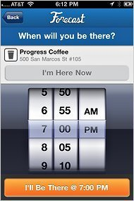 Forecast App Tells Friends Where You're Going | TechnoSurreal | Scoop.it