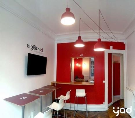 10 des plus beaux locaux d'entreprises dans le Numérique | Décoration et aménagement de bureaux | Scoop.it