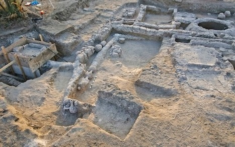 Ancient Estate and Garden Fountain Unearthed in Israel | Traveling Through Time | Scoop.it